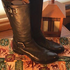 CORSO COMO EUC knee high boot black Sz. 8